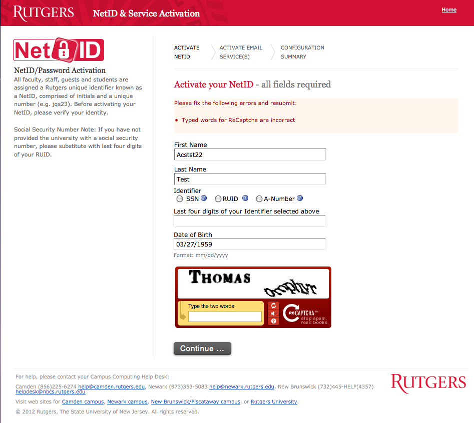 activating a netid and email account for students: step by step